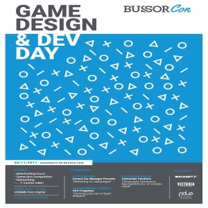 BussorCon: Game Design and Dev Day en Málaga