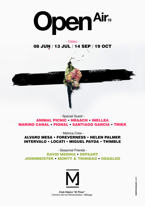 METRICA OPEN AIR SEASON 2019 en Málaga